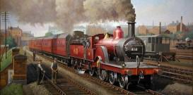 MRS Single Derby Steam Locomotive
