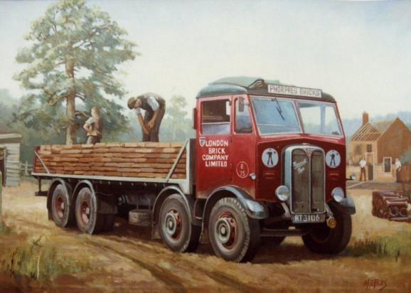 AEC_Mammoth_Major_MkII_Auxiliary_Axle
