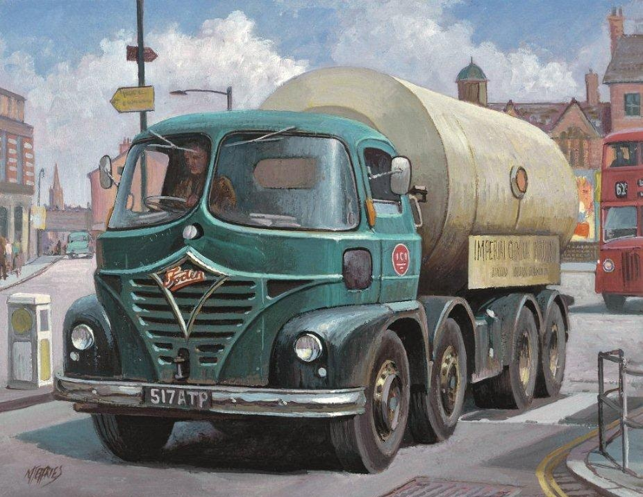 Foden S21 Mickey Mouse 187 Transport Artist