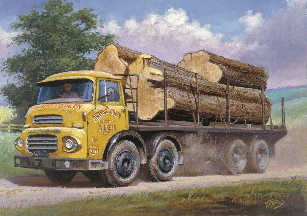Round Timber Leyland Octopus 187 Transport Artist